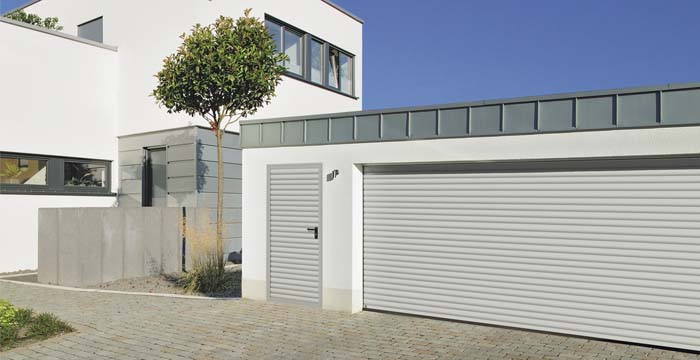Garage doors and side doors